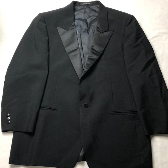 8fbb70c0d21 Yves Saint Laurent Jackets & Coats | Vintage Tuxedo Jacket Black ...